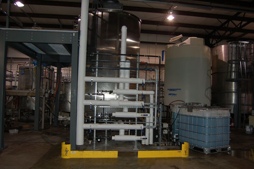 Maverick Packaging Boiler piping